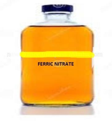 Ferric nitrate solution